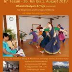 Sommer Tanzwochen im Tessin - 26.Jul to 01.Aug.2019